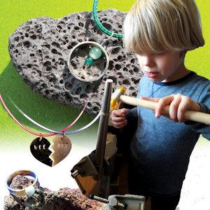 Kinderworkshop ring/hanger maken
