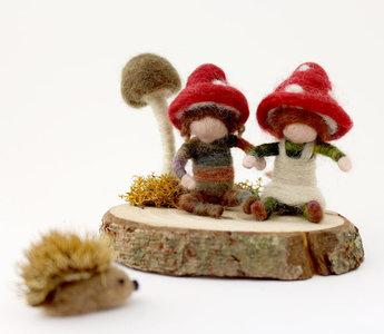 paddenstoelen kindjes