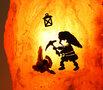 Zoutsteen lamp Dwerg in grot