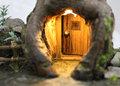 Kaboutertoren met lichtjes - sprookjes toren